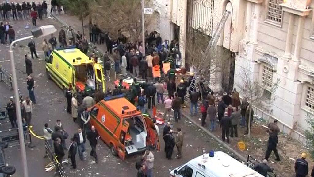 Útok na kostel v Alexandrii