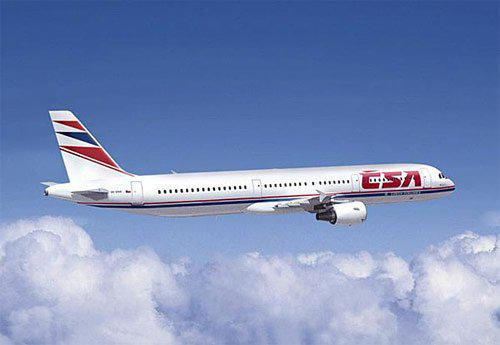 Airbus 321 společnosti ČSA