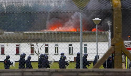 Zapálená věznice