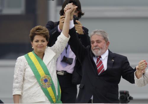 Dilma Rousseffová nastoupila do prezidentského úřadu