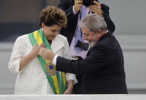 Dilma Rousseffová převzala prezidentký úřad