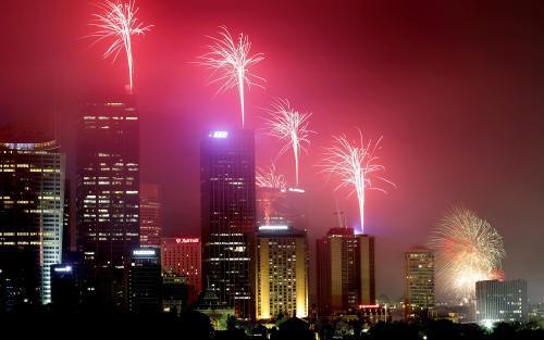Nový rok v Sydney