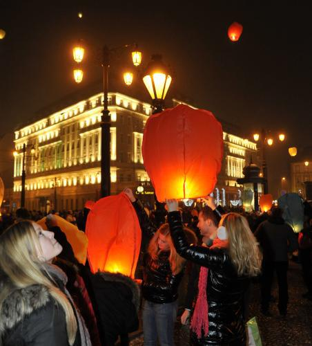 Silvestr 2010 na Slovensku