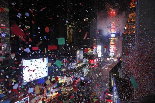 Silvestr 2010 v New Yorku