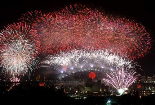Oslavy v Sydney