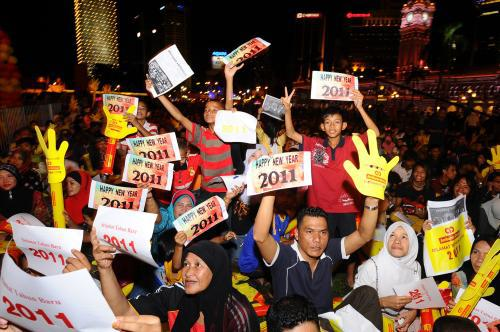 Nový rok v Malajsii