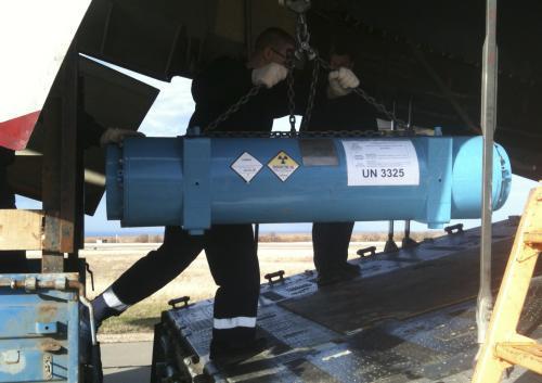 Transport uranu