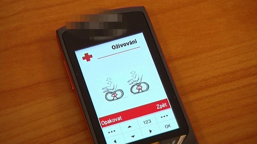 Karta první pomoci v mobilu