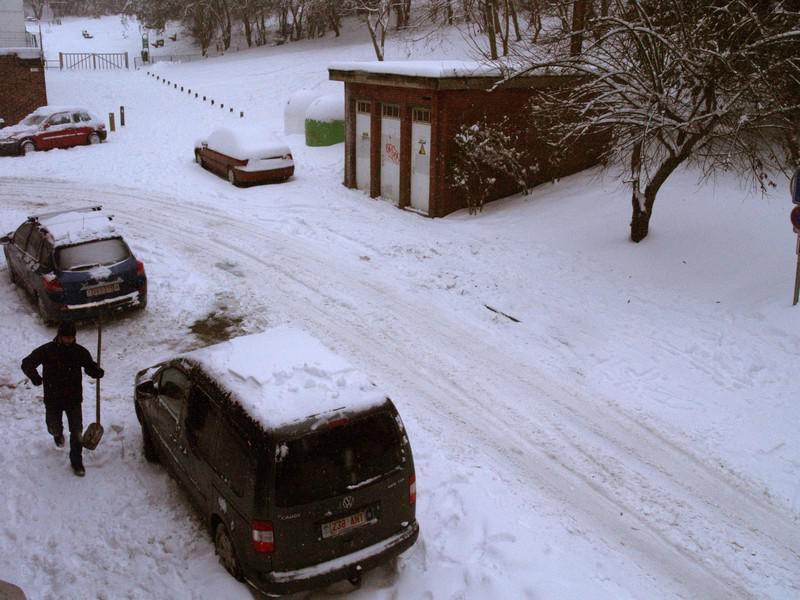 Zima v Belgii