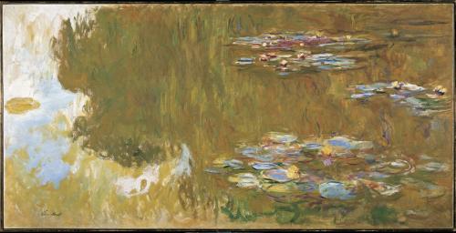 Claude Monet / Jezero s lekníny