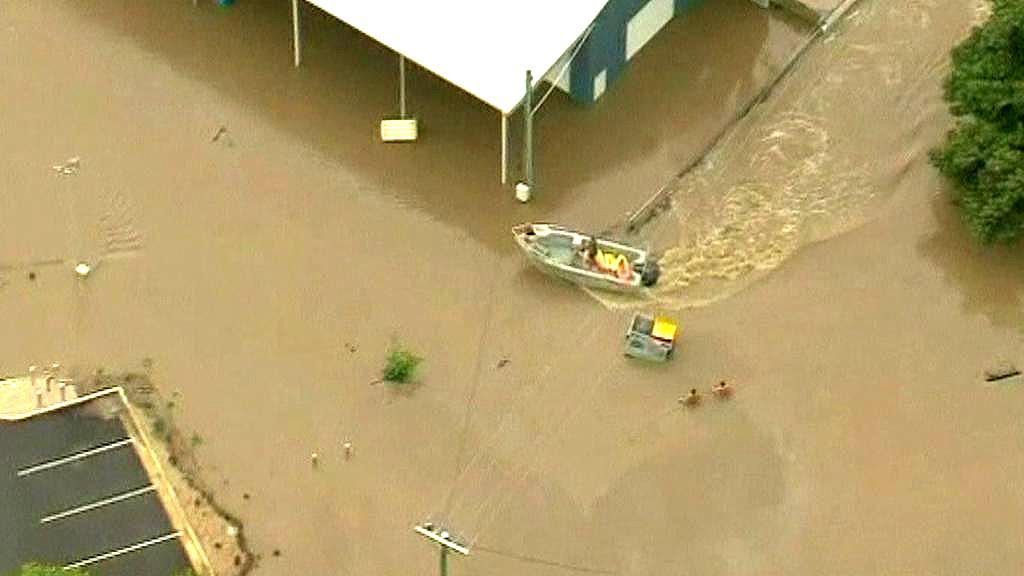Záplavy v Austrálii