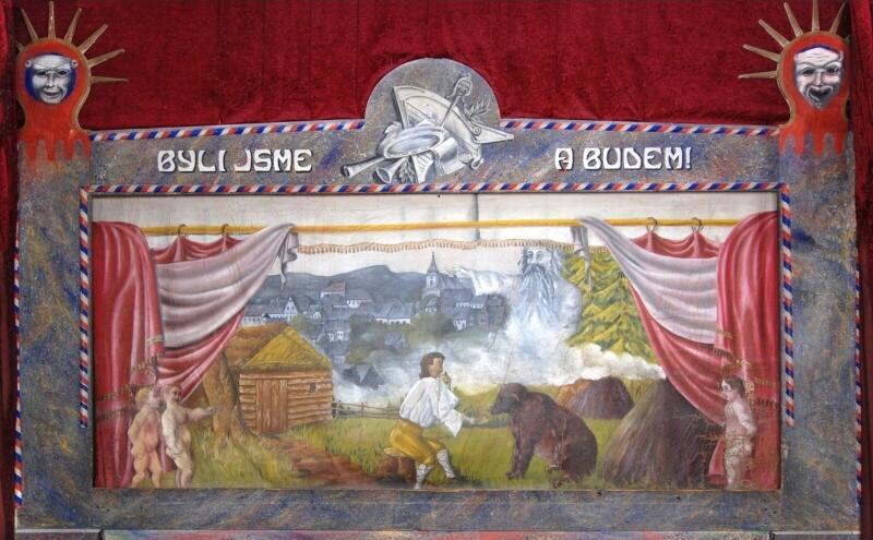 Malované opony divadel českých zemí