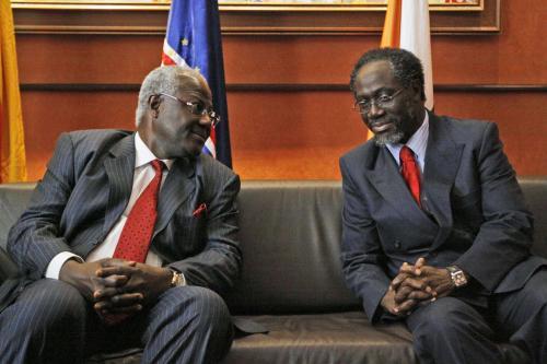 Ernest Bai Koroma a  Ake N\'gbo