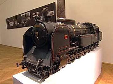 Model lokomotivy v NTM