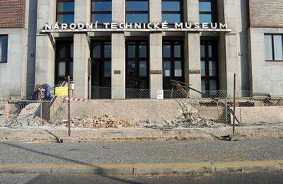 Rekonstrukce Národního technického muzea
