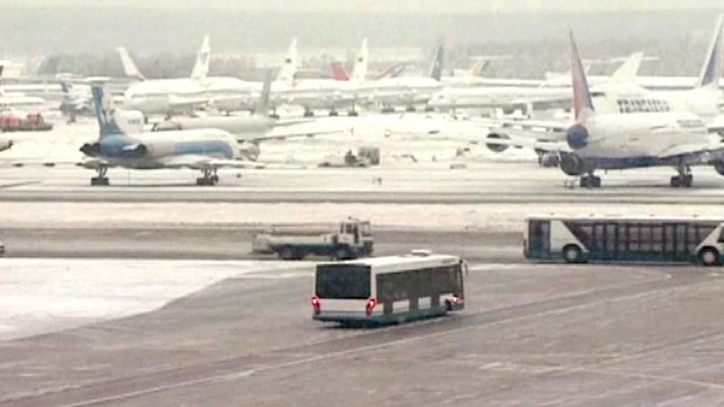 Ruská letiště ochromil mráz