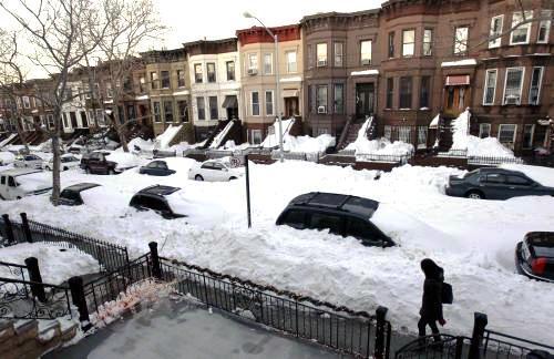 Dopravní kalamita v New Yorku