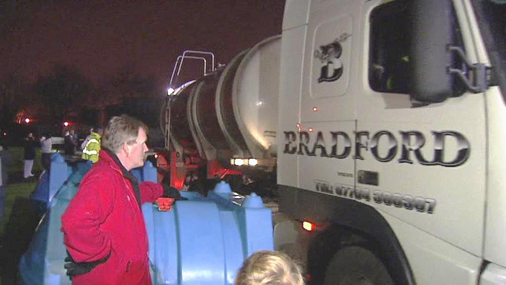 Severní Irsko je odkázané na cisterny s vodou