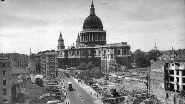 Bitva o Británii - Katedrála sv. Pavla