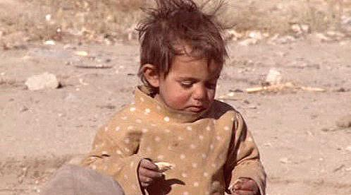 Afghánské dítě