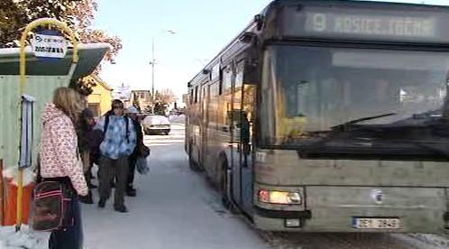 Autobus v Pardubicích