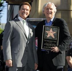 James Cameron a Arnold Schwarzenegger