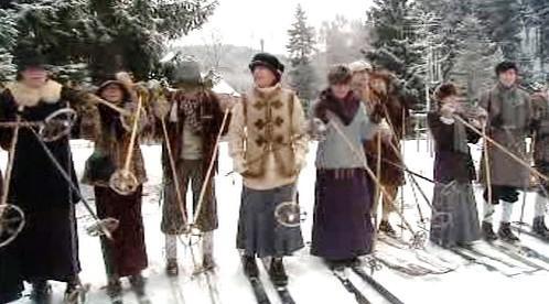 Krkonošští lyžníci