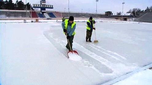 Příprava ledu