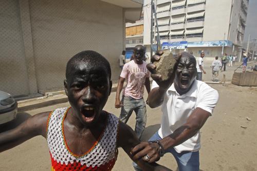 Povolební nepokoje v Pobřeží slonoviny