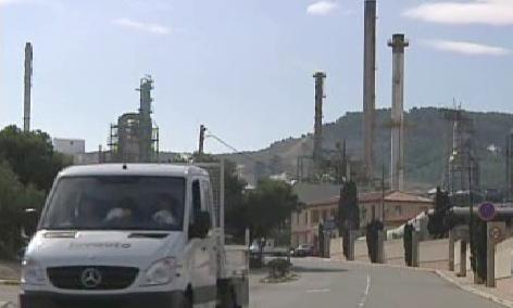 Bolivijská rafinerie