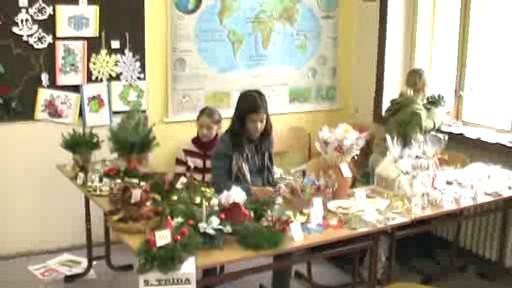 Vánoční jarmark na ZŠ Poběžovice