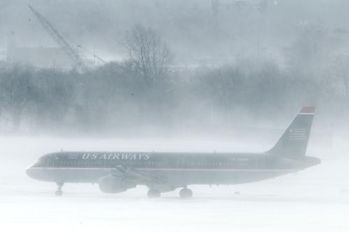Počasí komplikuje leteckou dopravu