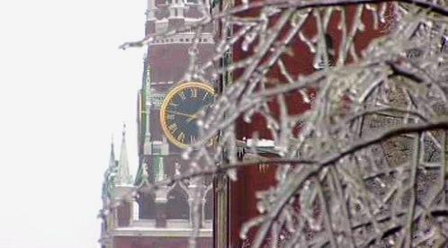 Mráz v Moskvě