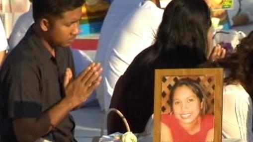 Vzpomínky na oběti tsunami z roku 2004