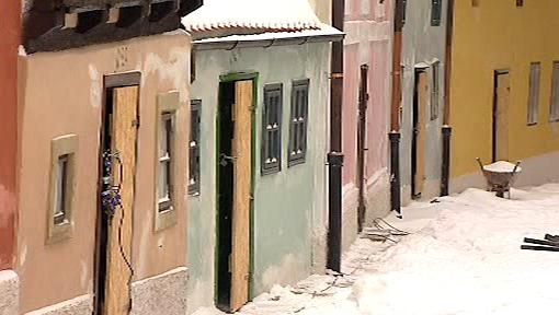Zlatá ulička v Praze