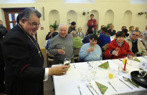 Vánoční charitativní oběd v Arcibiskupském paláci