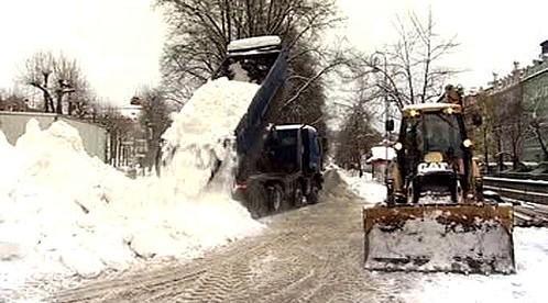 Vozy se sněhem