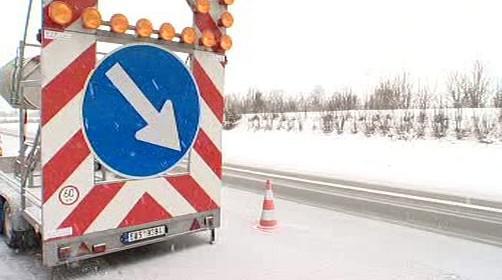 Omezení dopravy na dálnici