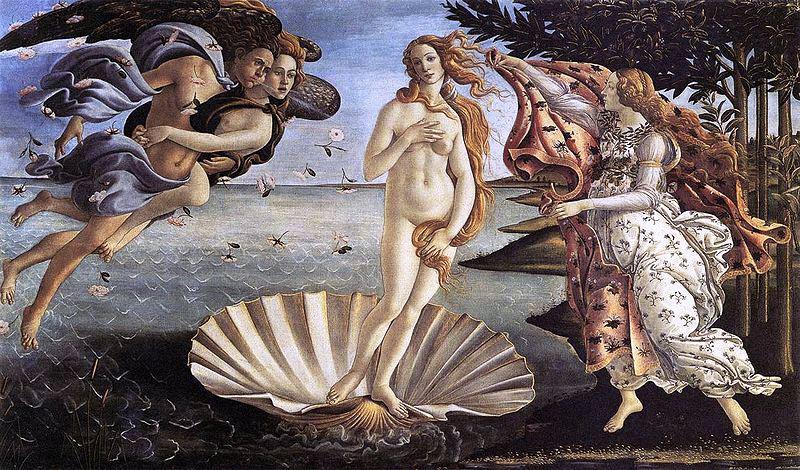 Botticelliho Zrození Venuše