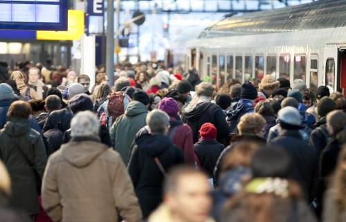Německé železnice zažívají nápor cestujících