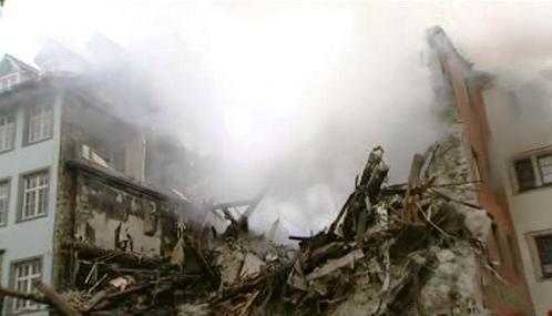 Spáleniště v Husově ulici v Kostnici
