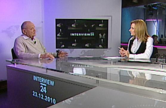 Václav Vorlíček v Interview ČT24