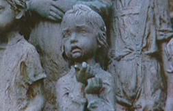 Ukradená socha děvčátka