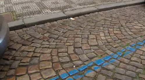 Modrá parkovací zóna