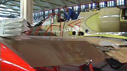 Výroba vojenských letadel