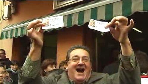 Vítěz španělské loterie El Gordo