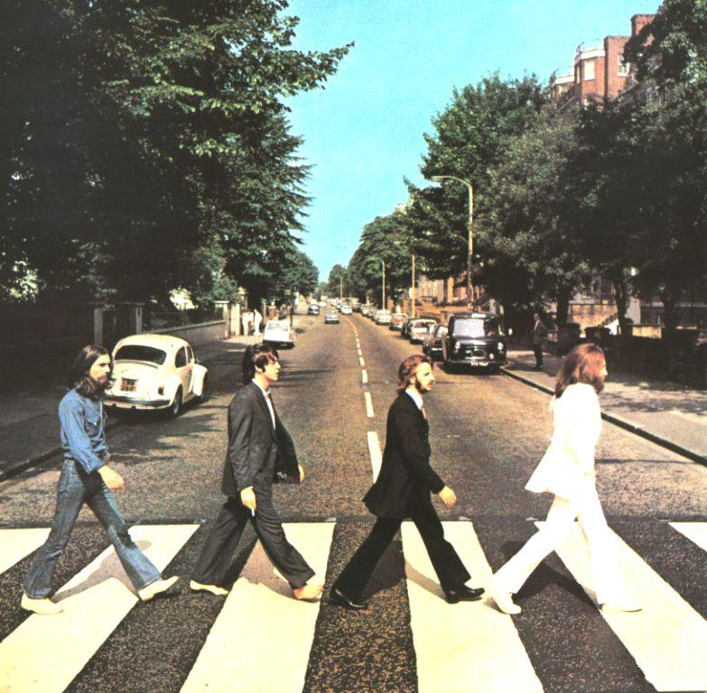 Obal alba Abbey Road od Beatles