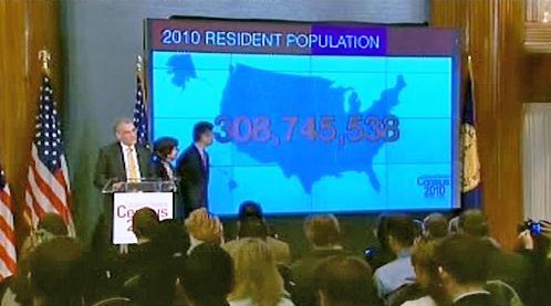 Výsledky sčítání lidu v USA