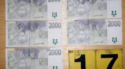 Označené bankovky
