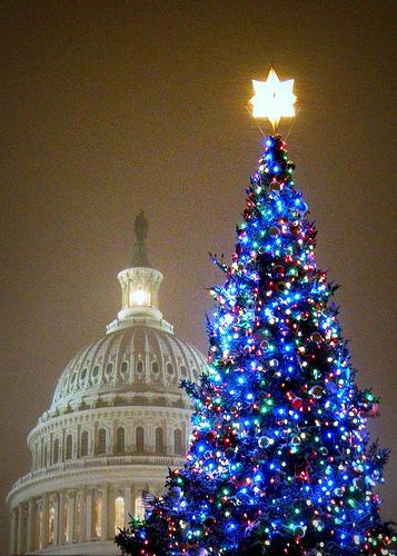 Američané slaví Vánoce